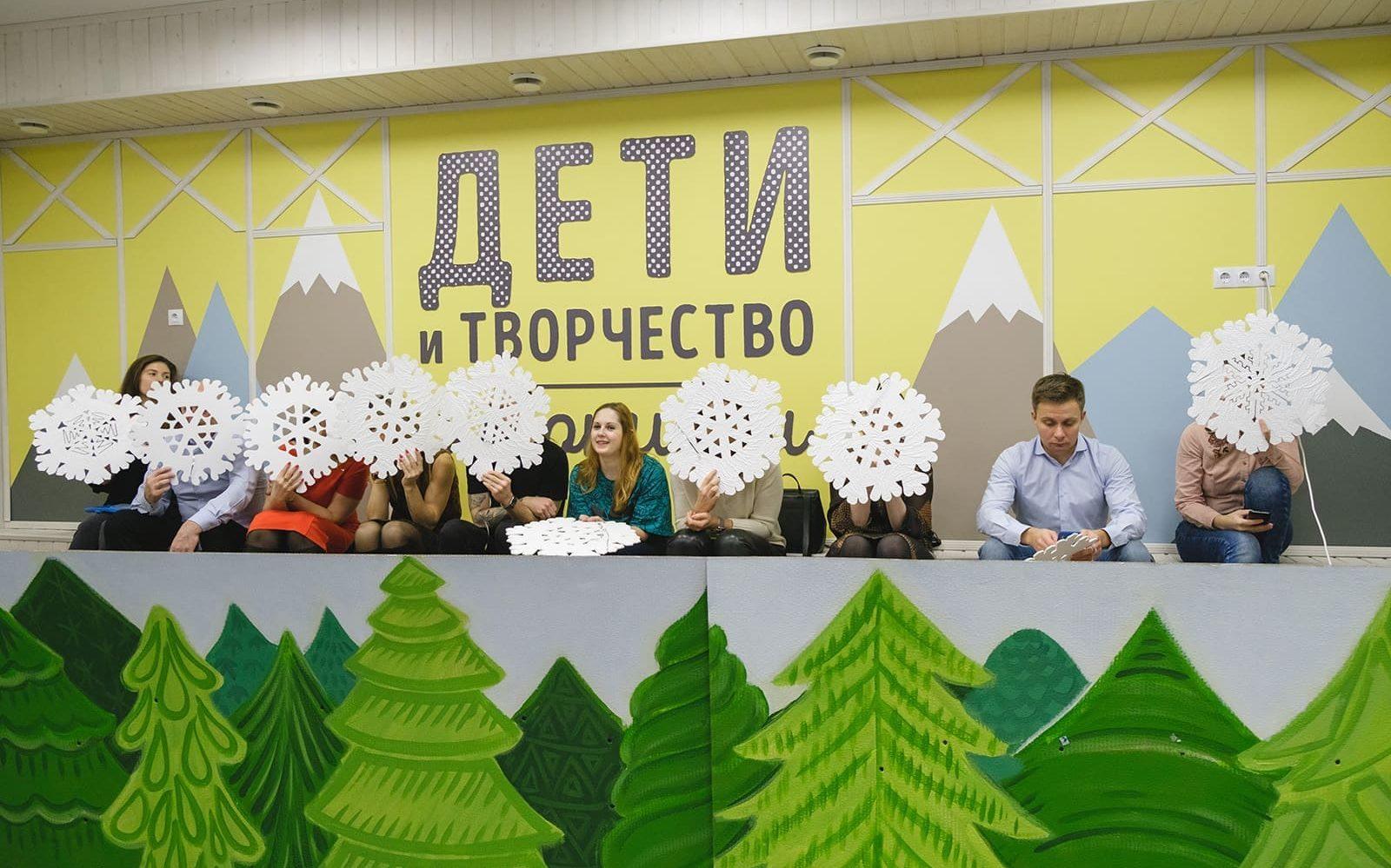 Съемка детского утренника в Санкт-Петербурге