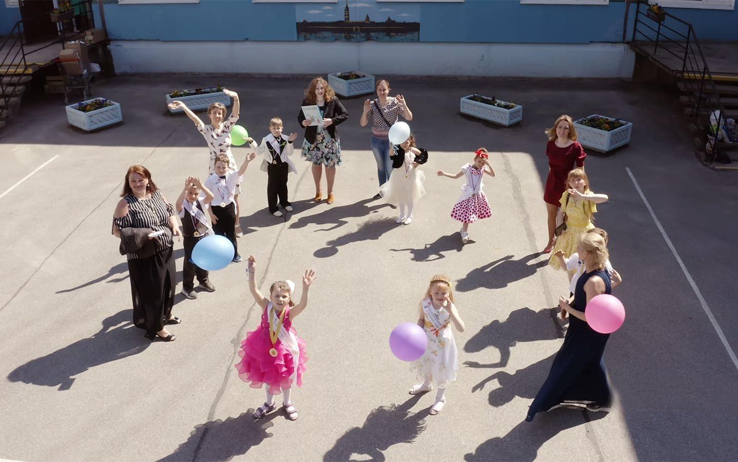 Съемка детей в детском саду в Санкт-Петербурге