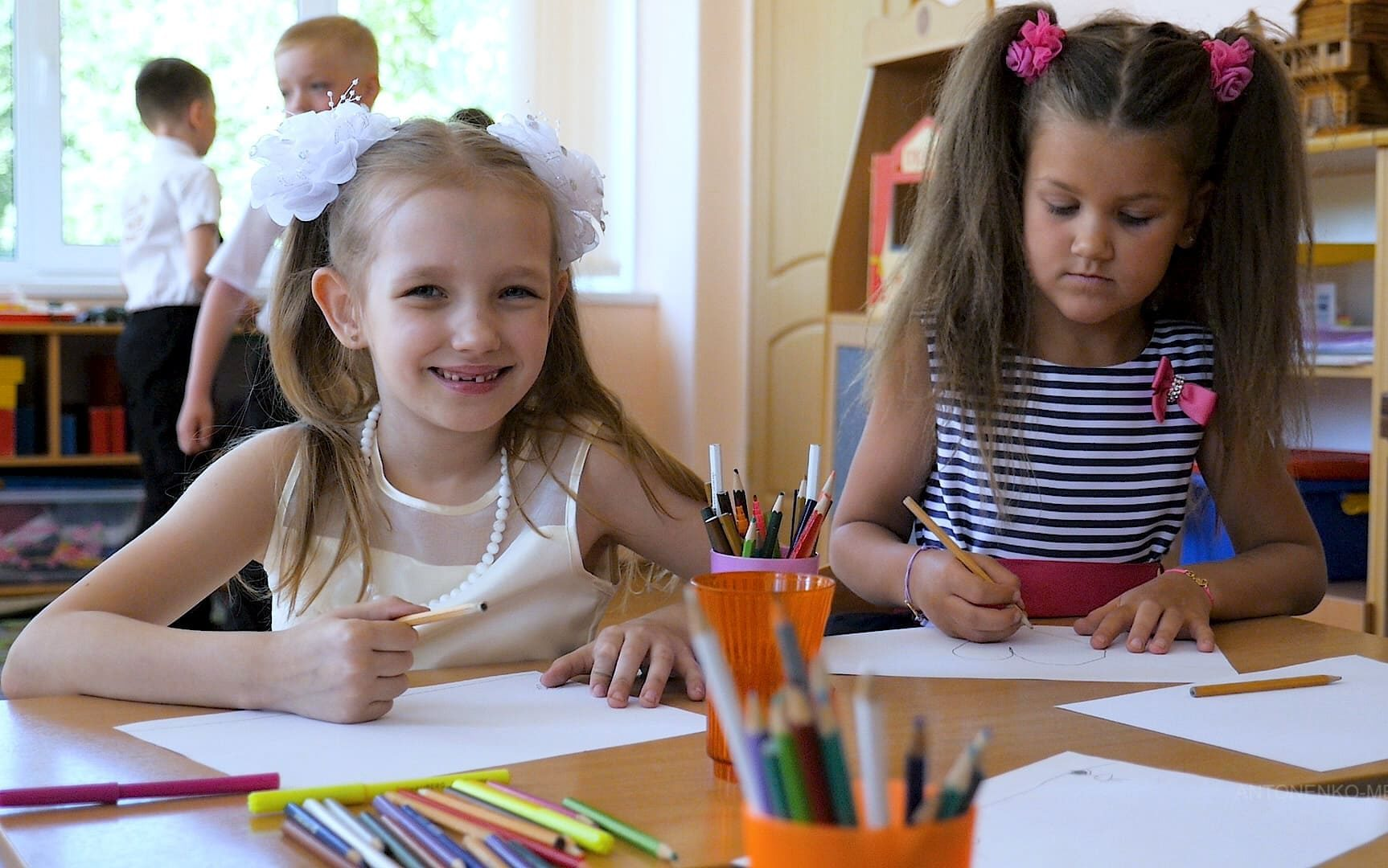 Съемка выпускного в детском саду СПб