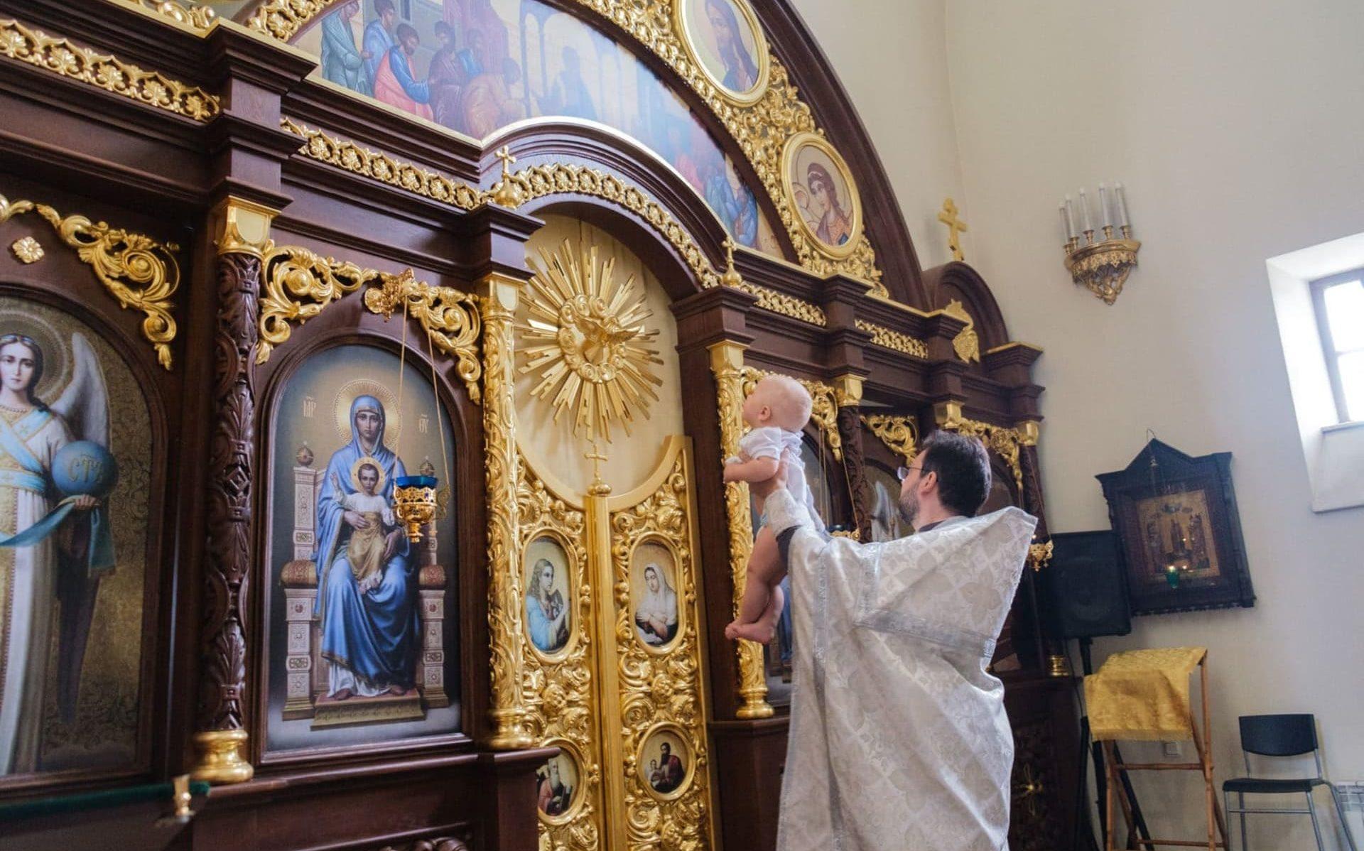 Фотограф на крещение СПб - Фотограф на крещение ребёнка
