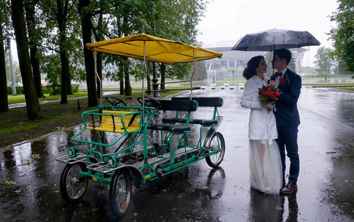 Видеооператор на свадьбу в Санкт-Петербурге
